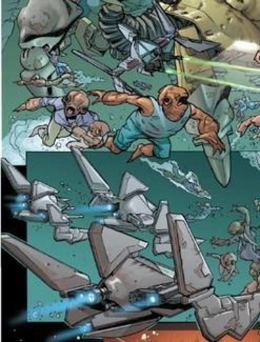 L'Escadron Shark en action.