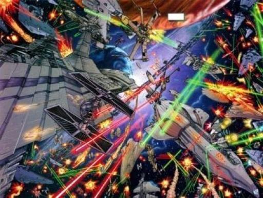 L'Empire découvre pour la première fois la Flotte Rebelle
