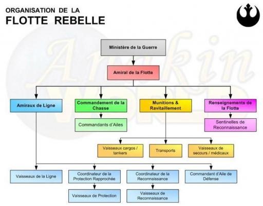Organisation de la Flotte Rebelle