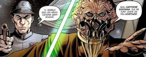 Plo Koon, Jedi Consulaire, tentant une négociation diplomatique au cours de la crise de Rendili
