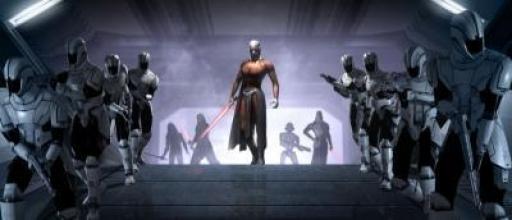 Darth Malak débarque à la tête de ses Légions