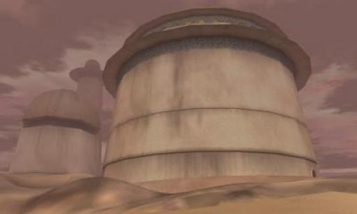 Une citadelle érigée par les B'omarr.
