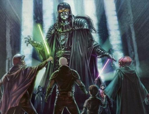 Les apprentis Jedi affrontent l'esprit d'Exar Kun