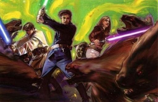Le Commando Jedi au cours de la Mission Myrkr