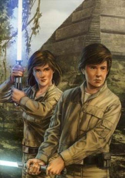 Jacen et Jaina Solo à l'Académie Jedi