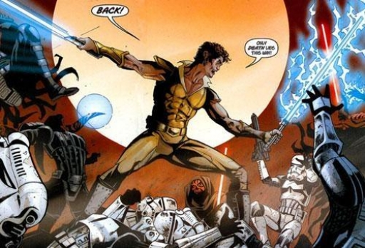 Kol Skywalker défend l'Académie d'Ossus