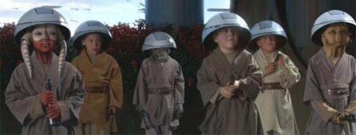Les novices du Clan de l'Ours, sous la tutelle de Yoda