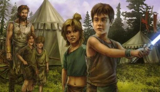Jeunes enfants recrutés par l'Ordre Jedi au cours de la Bataille de Ruusan