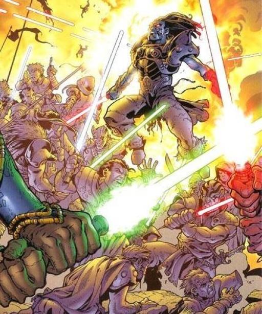 La sanglante Bataille de Ruusan entre les Jedi et les Sith