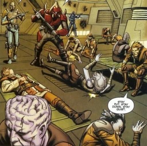 Les premiers Revanchists aux mains des Mandaloriens sur Flashpoint