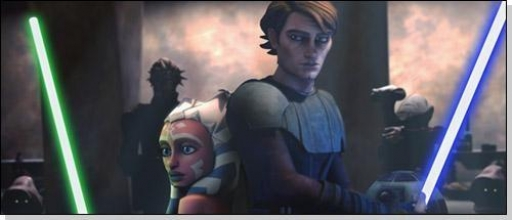 Ahsoka Tano et son Maître, Anakin Skywalker
