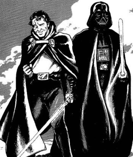 Tremayne et Darth Vader