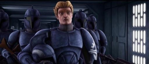 Le Capitaine Argyus et des Commandos du Sénat.