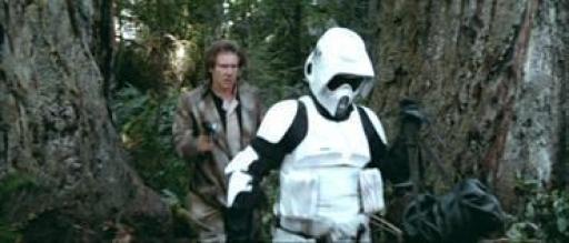 Avarik sur le point d'engager un combat avec Han Solo.