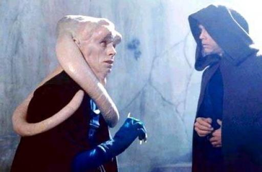 Bib Fortuna manipulé par un Chevalier Jedi.