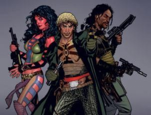 Deliah Blue, Cade Skywalker et Jariah Syn
