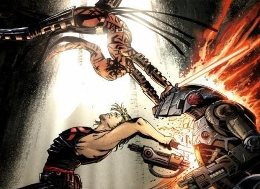 L'entrainement entre Darth Talon et Cade Skywalker