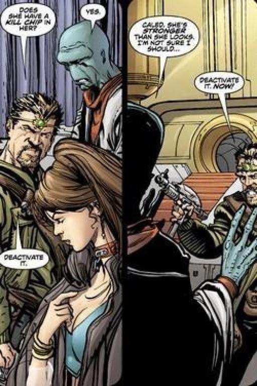 Première rencontre entre Caled et Nina.