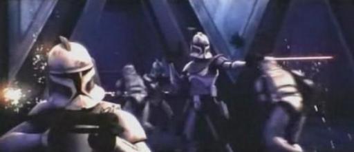 Le Capitaine Rex lors de la bataille de Crystal City.
