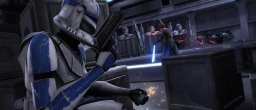 Le Capitaine Rex activant les explosifs.