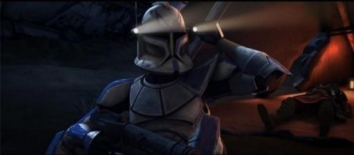 Rex veillant sur le Général Anakin Skywalker.