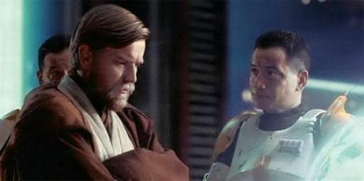 Obi-Wan Kenobi et Cody en briefing avant Utapau
