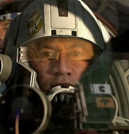 Le Commandant Odd Ball aux commandes de son RCO-170.