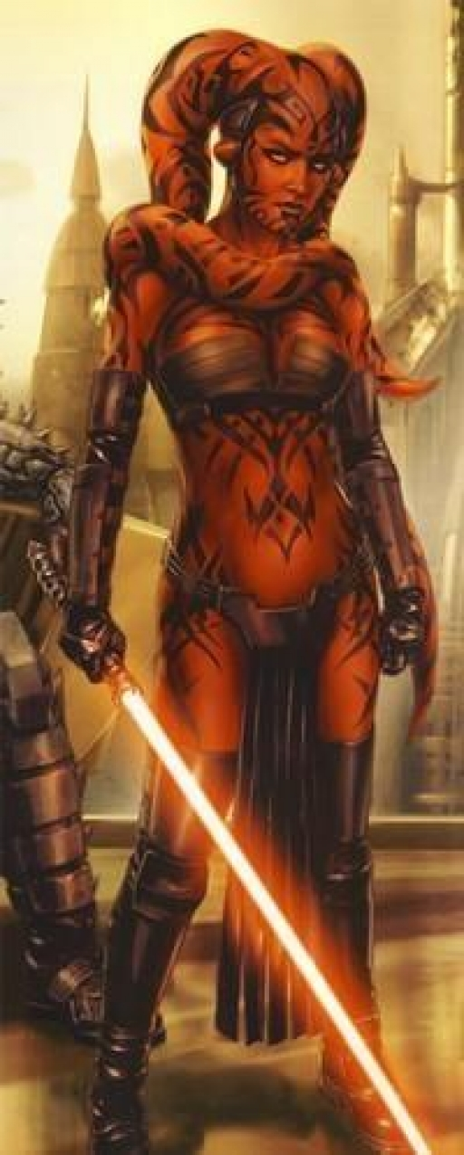 La Dame Sith Darth Talon.