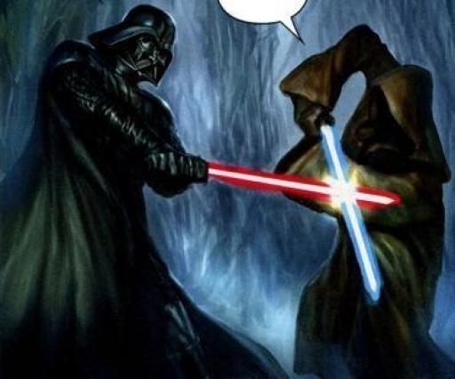 Le duel avec Darth Vader