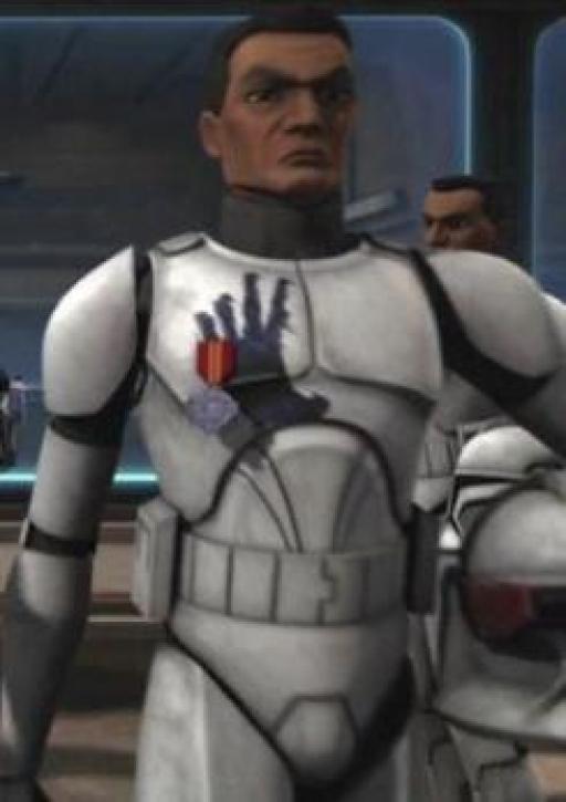 Echo, soldat de la 501ème Légion.