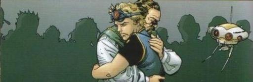 La séparation du père et du fils