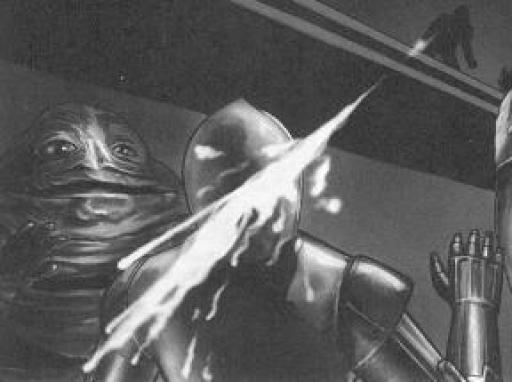 La destruction de H-3POB