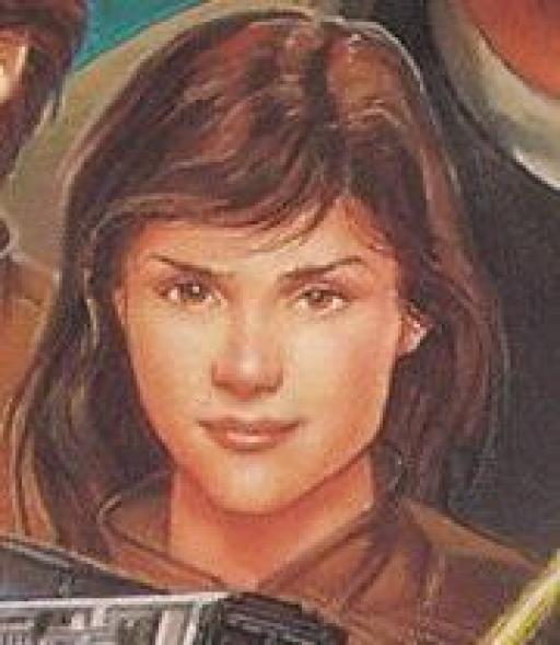 Jaina, peu avant de quitter l'Académie Jedi