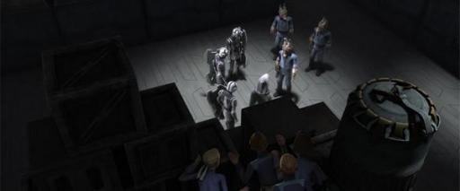 Korkie et ses camarades surprennent une rencontre secrète.