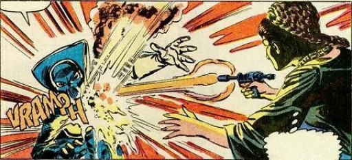 Lumiya affronte Leia sur Herdessa