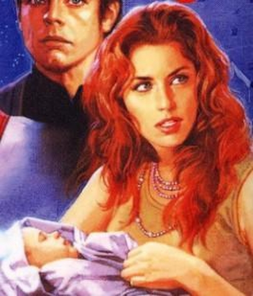 Mara Jade Skywalker et son fils, Ben Skywalker