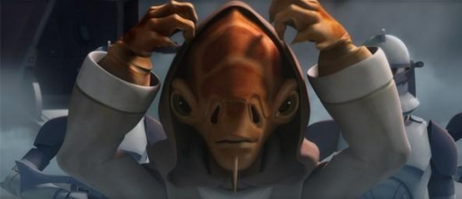 Nahdar Vebb, Chevalier Jedi et ancien Padawan de Maître Kit Fisto.