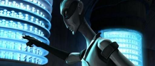 Nuvo Vindi et ses fioles de Virus Blue Shadow.