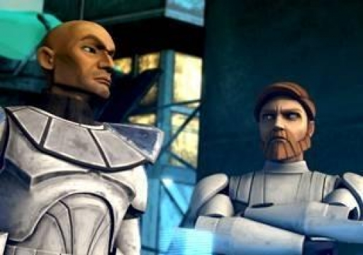 Obi-Wan et Rex en briefing sur Christophsis