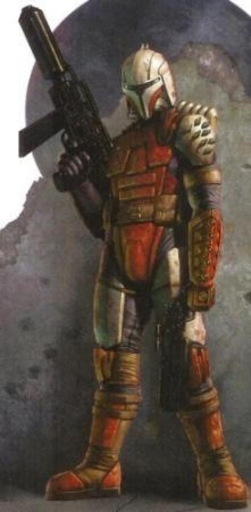 Rohlan, en armure de combat
