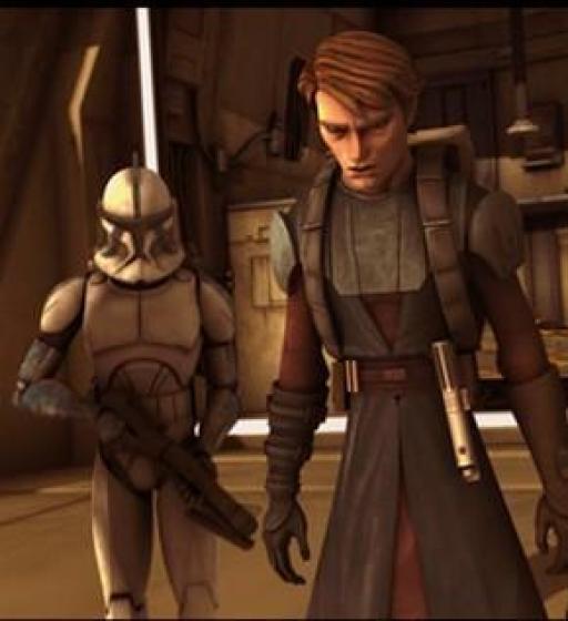 Denal et Anakin Skywalker.