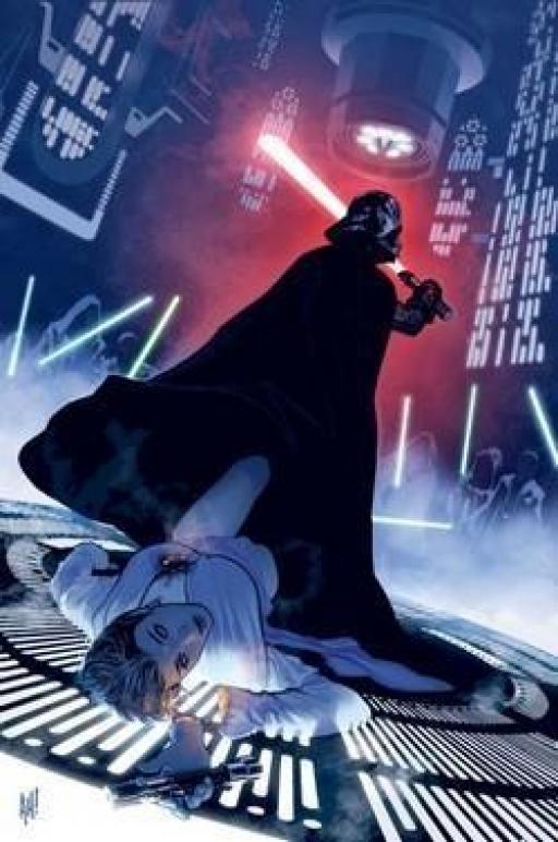 Wezz laissée pour morte par Vader.