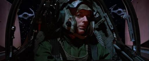 Sila Kott aux commandes de son A-Wing.