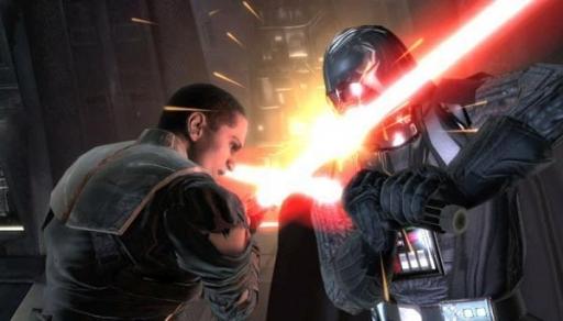 Duel entre Vader et Starkiller
