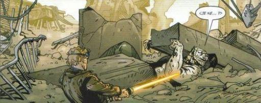 Tsalok, sauvé par l'un de ses ennemis jurés...