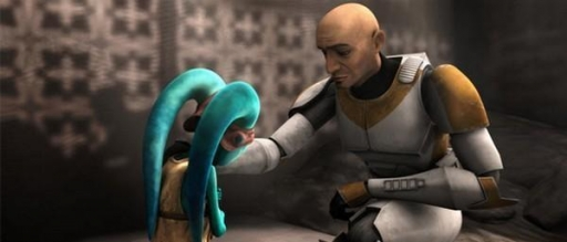 Waxer tente de réconforter Numa.