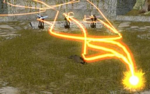 Zez-Kai Ell dont l'énergie vitale est aspiré par Darth Traya en même temps que Vrook Lamar et Kavar.