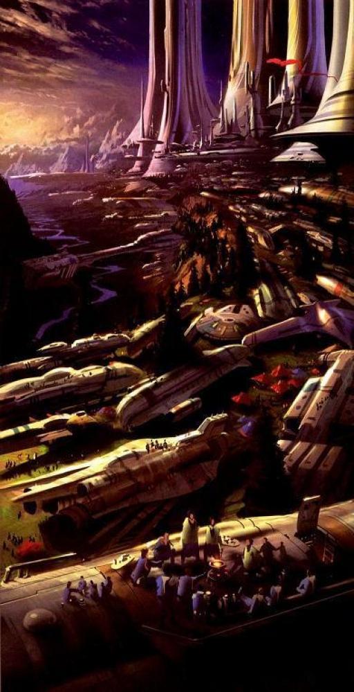 Rassemblement des Alderaaniens (Image: Celestia Galactica Photografica)