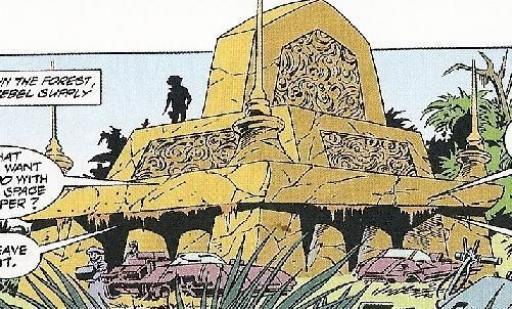Fig 3 : Temple protohistorique de Cilpar