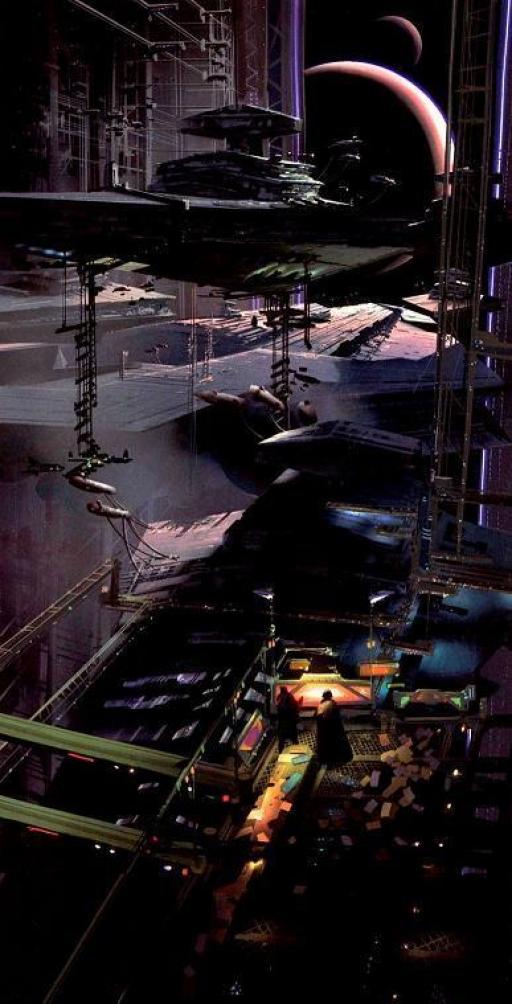 Les Chantiers Navals de Fondor (Image: Celestia Galactica Photografica)